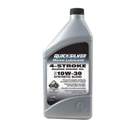 4-Stroke Engine Oil, 10W-30, Synthetic Blend, 1ltr