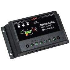 Regulator Solcellepanel 10A - 12/24V
